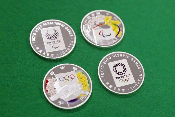 Сувенирные монеты, равно как и другие предметы с олимпийской символикой, обычных японцев мало интересуют. /Фото:tokyo2020.org