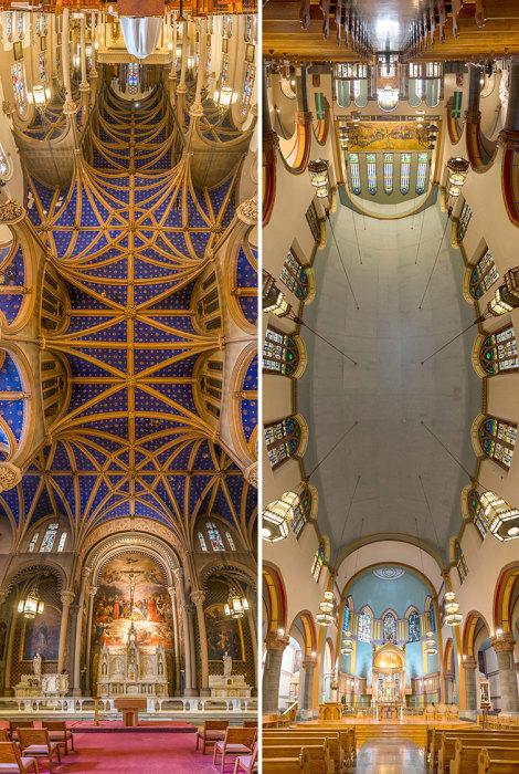 Церковь Святого Стефана и церковь Святого Апостола Павла.