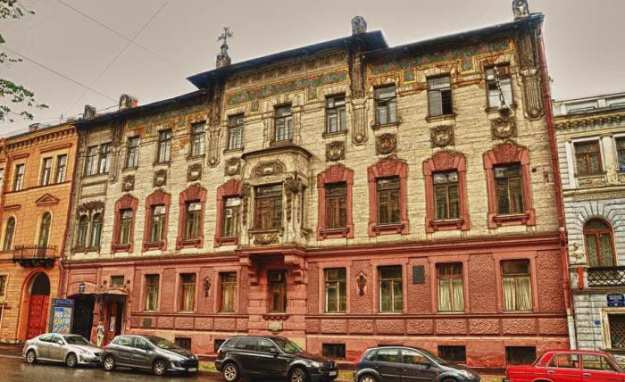 Дом Набоковых в наши дни. /Фото:spb.ru