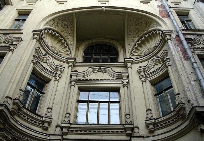 Фрагмент здания в наши дни. /Фото:goru.travel