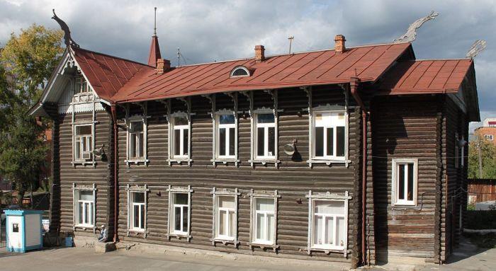 Дом с драконами. /Фото: tonkosti.ru