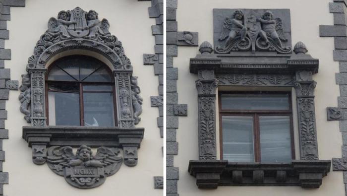 Оригинальные архитектурные решения при оформлении окон. /Фото:citywalls.ru