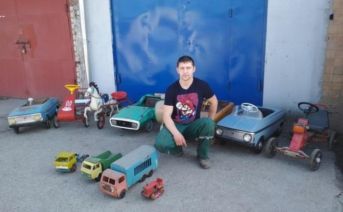 Зачем умельцы из России и Белоруссии восстанавливают игрушечные автомобили из 1980-х