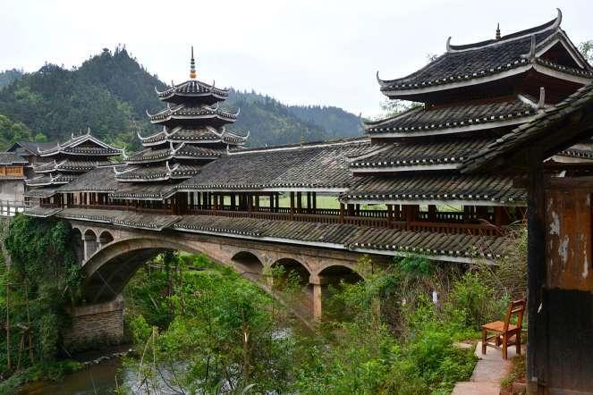 Дом-мост в Китае. /Фото:kn3.net