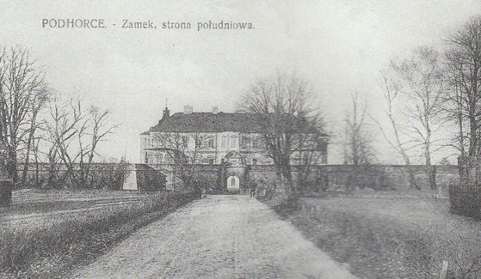 Южная сторона замка. /Фото:zamki-kreposti.com.ua