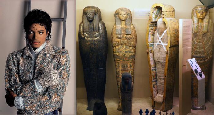 Поклонники Джексона до сих пор ищут связь между поп-идолом и древнеегипетскими артефактами музея. /Фото:pangcouver.com