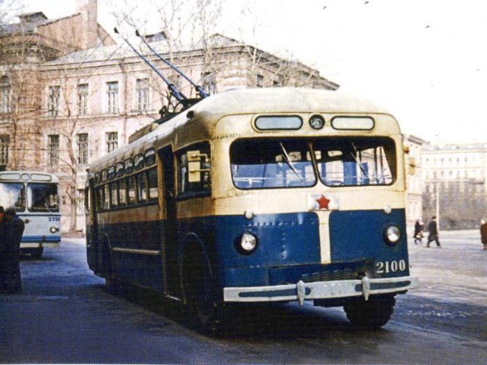 Так намываемый синий троллейбус. /Фото:getmuseum.ru