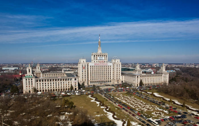 Дом свободной прессы в Бухаресте в наши дни. /Фото:dreamstime.com