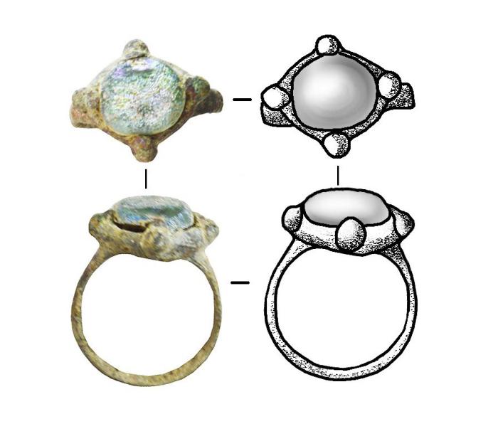 Бронозовый перстень. /Фото:archaeolog.ru