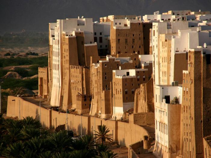 Здания города Шибама./Фото:etotam.com