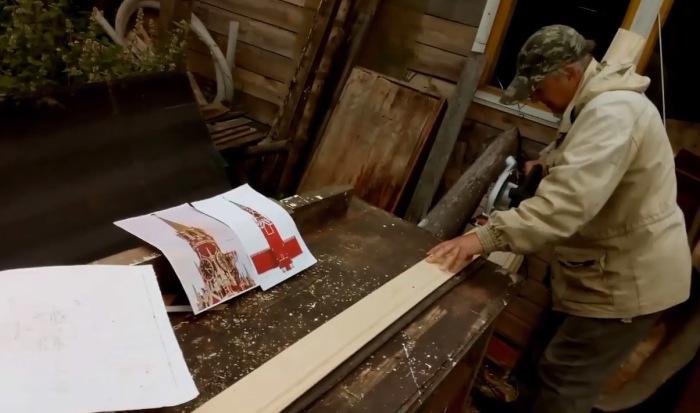К стоительству архитектор подготовился профессионально. /Фото:кадр из видеоролика Л.Н. Рагутского