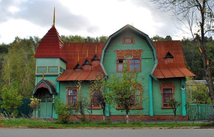 Очень необычный особняк Пришлецова. /Фото:tourism33.ru