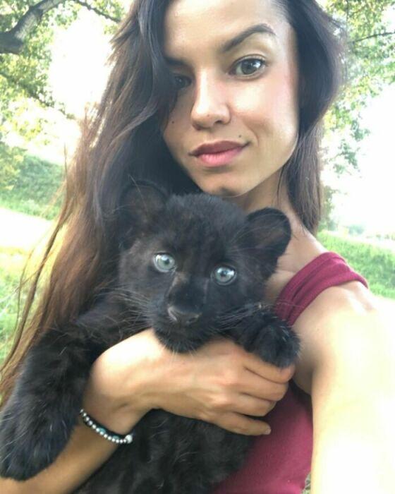Селфи с котёнком.