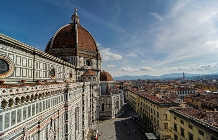 Флорентийский собор привлекает миллионы туристов со всего мира. /Фото:Martin Balo