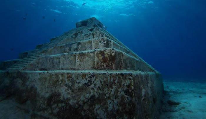 Подводные пирамиды хранят тайны тысячелетий. /mtdata.ru