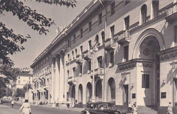 Гостиница «Советская», 1962. /Фото:pastvu.com