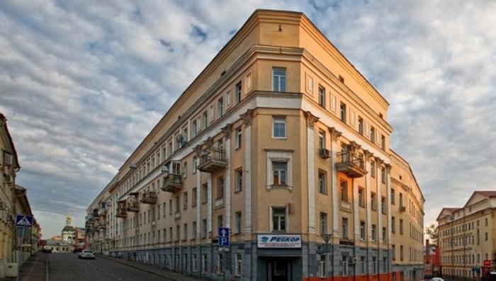 Дом-утюг Кулакова в XXI веке. /Фото:незабываемая.москва