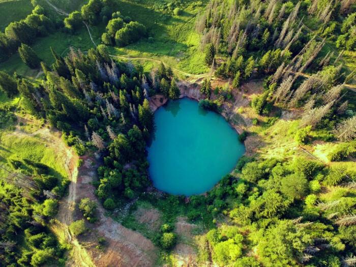 Глаз Земли. /Фото: blogspot.com