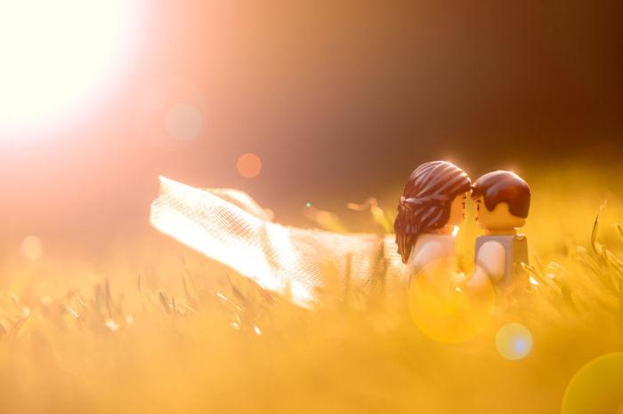 Романтическое фото.