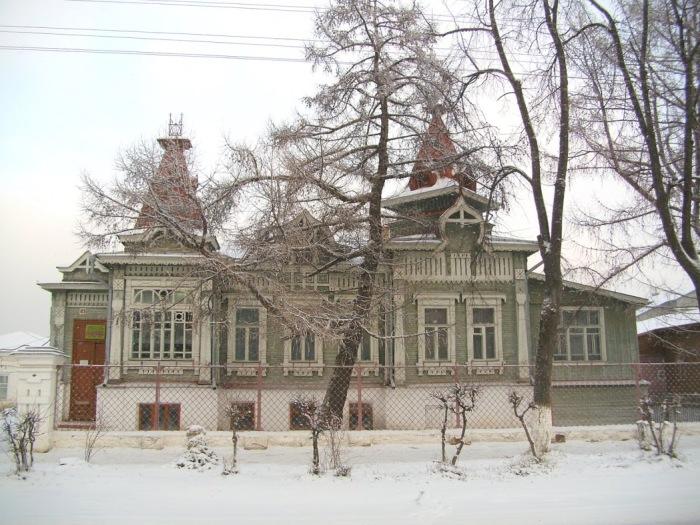 В Гороховце есть и другие интересные здания. Например, дом Морозова. /Фото:kuba.livejournal.com