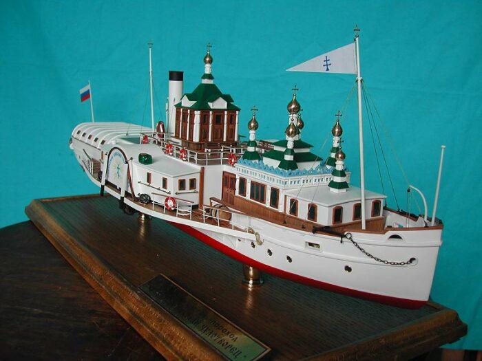 Модель храма св. Николая. /Фото:picturehistory.livejournal.com