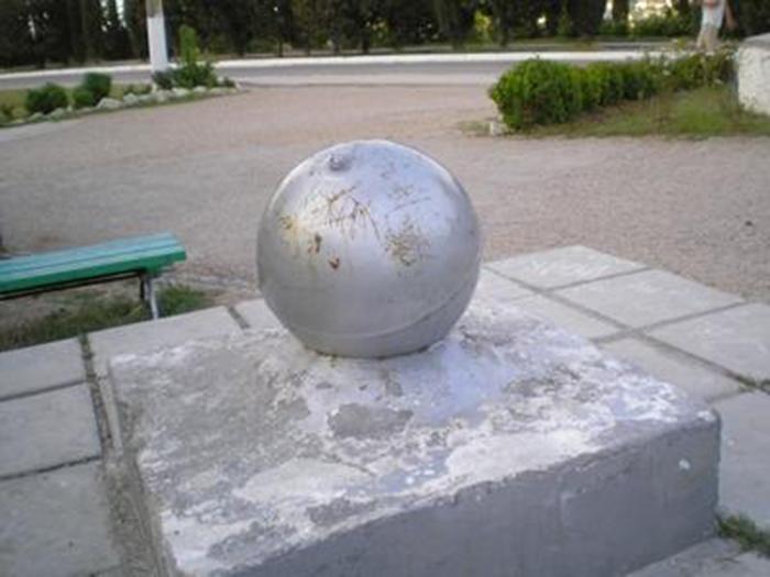 Шара в Севастополе. /kolybanov.livejournal.com