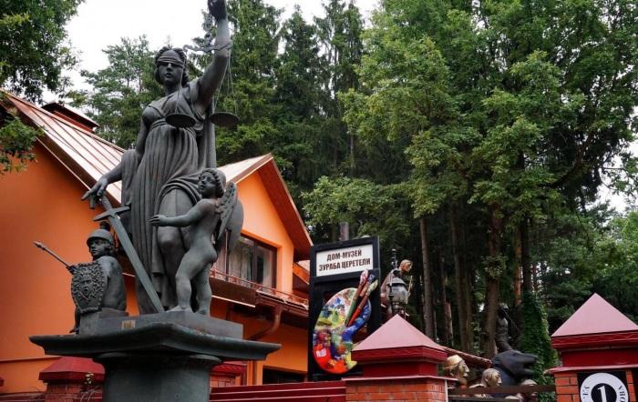 Дом-музей Зураба Церетели расположен в очень живописном месте. /Фото:otzovik.ru