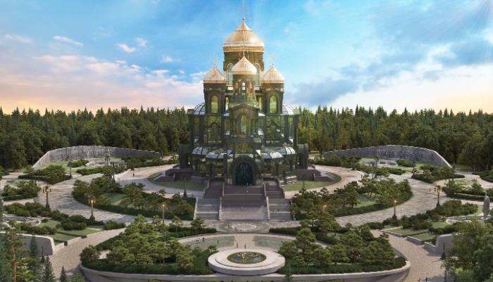 Проект выглядит очень масштабным и красивым. /Фото:mil.ru