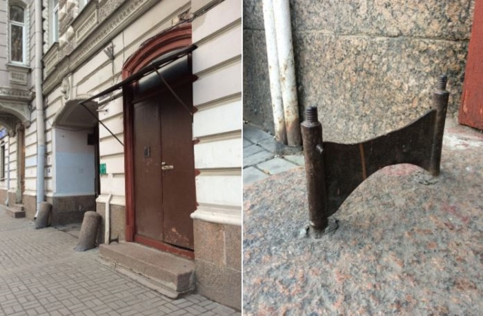 Декроттуар на Суворовском проспекте, 33. /Фото:ebelyaev.livejournal.com