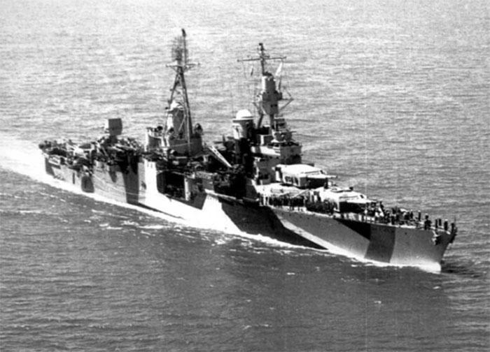 В 1944 году такие корабли были уже редкостью. /Фото:thevintagenews.com