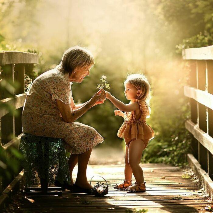 Лето с бабушкой.