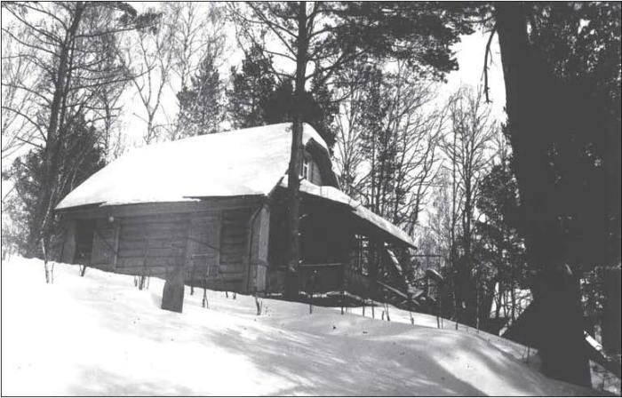 Кунцево. Летняя дача зимой. 1902 год. /Фото:kuntsevo.org