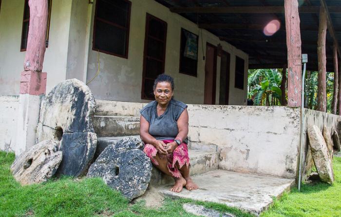 Монеты-исполины в тропиках Микронезии. /Фото:photoshelter.com