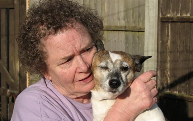 Хозяйка и ее спасительница/Фото:telegraph.co.uk