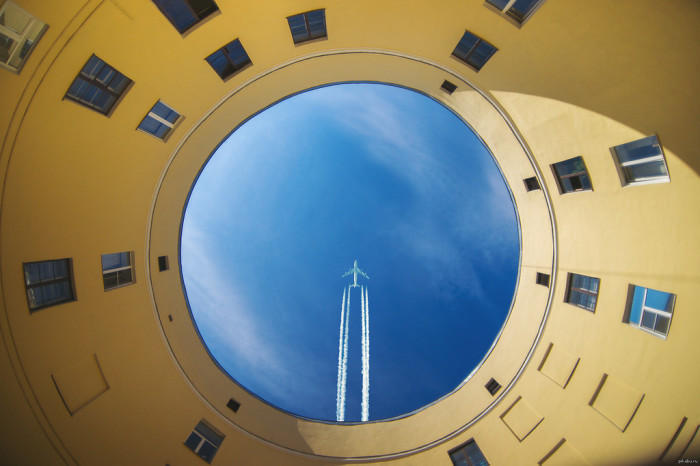 Дом-кольцо. /Фото:omsk.com