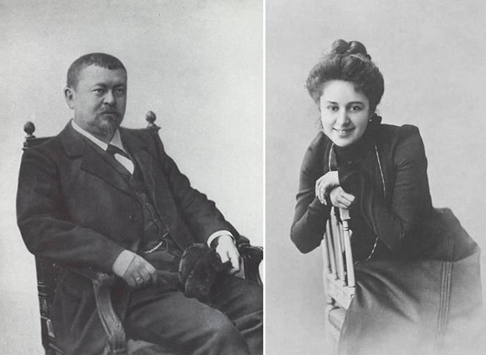 Морозов и Андреева.