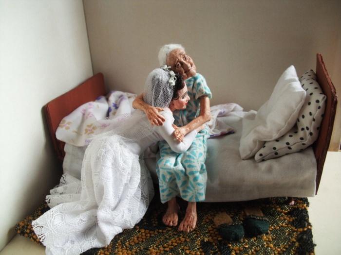 Бабушка и внучка. /Фото:livemaster.ru