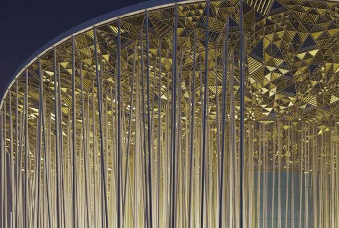 В вечернее время театр напоминает маяк. /Фото:sca.design