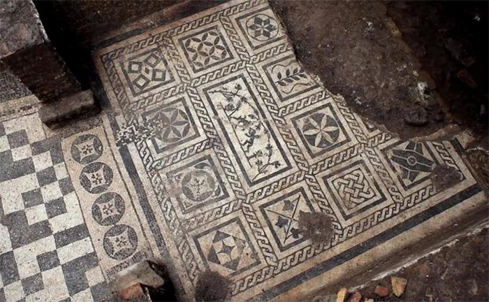Мозаика прекрасно сохранилась. /Кадр из видеосюжета Rusty's Archaeology Zone на youtube