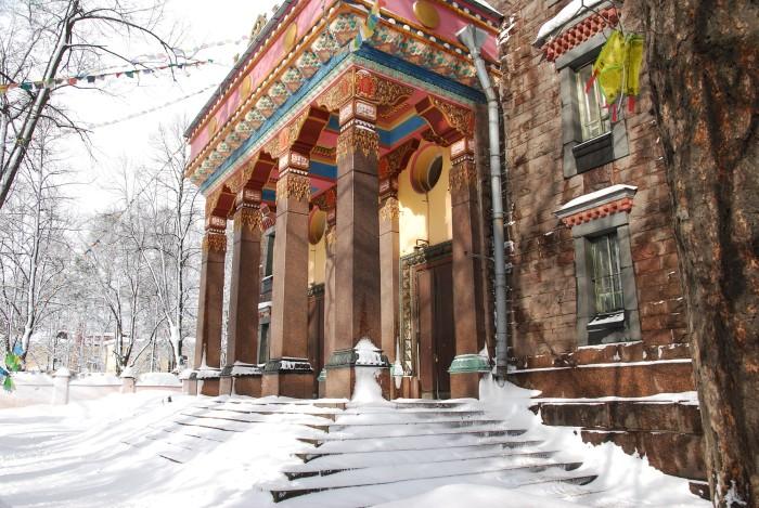 Буддийский храм в Питере.  /Фото:dalekonedaleko.ru