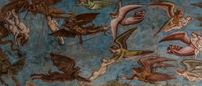 Фрагмент фрески. /Фото:barnum-review.com