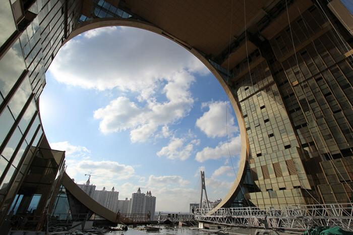 Необычный ракурс. /Фото: Joseph di Pasquale architect