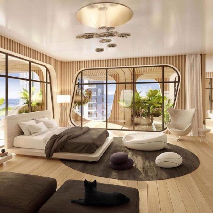 Квартира в Радужном доме будет выглядеть примерно так.