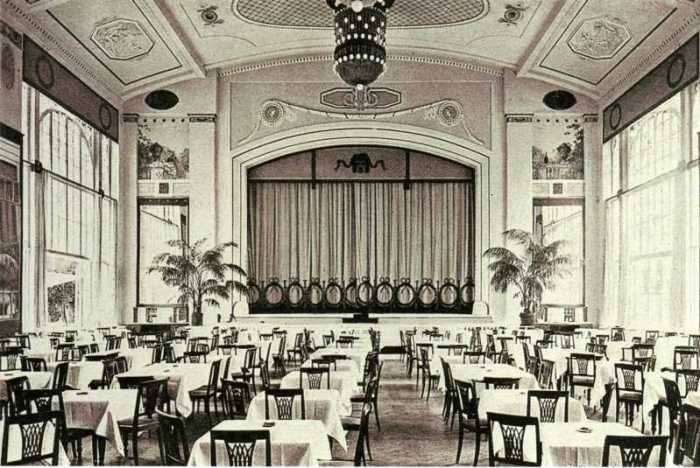 Ресторан в начале XX века. /Фото:pastvu.com