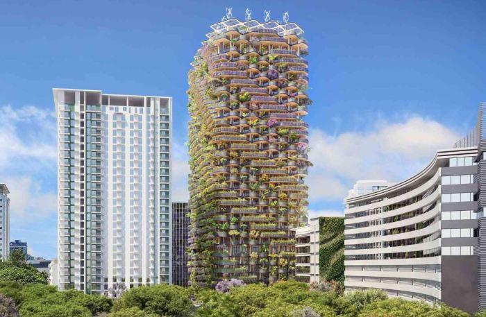 Вертикальный лес построят в городе Себу среди бетонных и металлических зданий