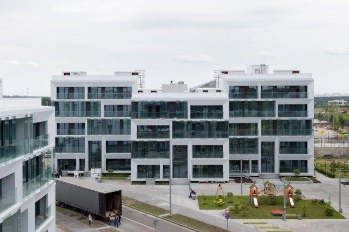 Дома, похожие на тетрис, и квартиры, не похожие одна на другую. /Фото:the-village.ru