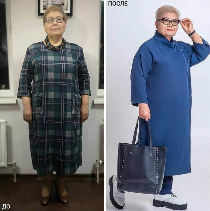 Стать модной красоткой можно даже в серебряном возрасте.