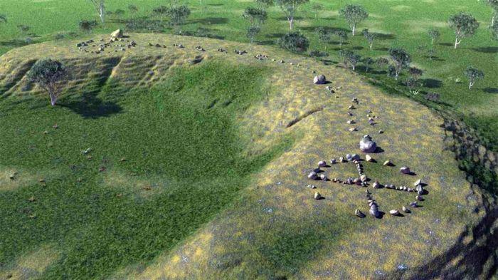 Странные камни австралийских аборигенов могут быть аналогом Стоунхенджа. /Фото:xcom-hobby.ru