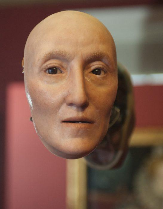 Художник воссоздал даже волоски на ее лице. / Фото:matcollishaw.com