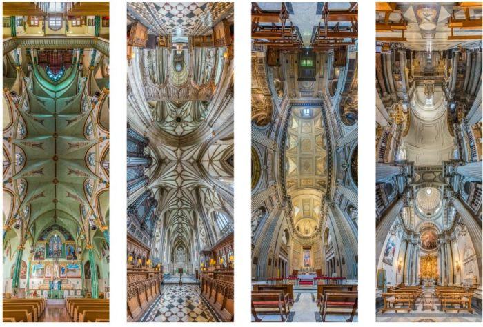 Потрясающие фотографии храмов, от которых кружится голова.